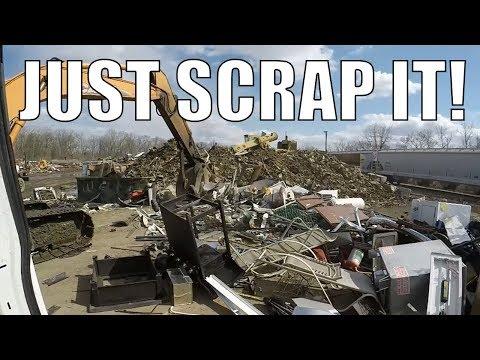 Scrap Yard Trip - Scrapping Metal VS Selling Metal!