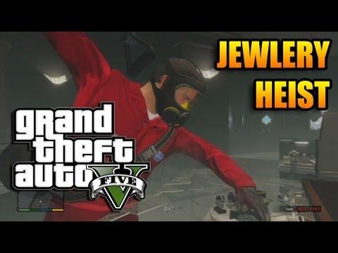 GTA V - Jewelry Heist - $4,000,000 Payout