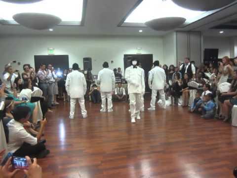 Jabbawockeez Perform at Joe and Sofias Wedding 2014