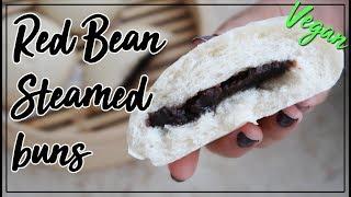 Sweet Red Bean Steamed Buns | Delicious Korean Recipe! | Vegan & Kosher