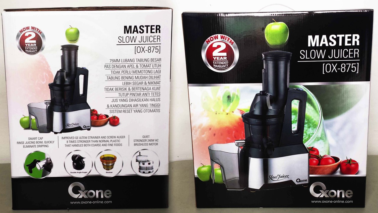 Slow Juicer Oxone Ox 875 : Review Master Slow Juicer Oxone OX-875 - YouTube