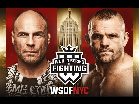 WSOFNYC: Chuck Liddell and Randy Couture Q&A