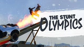 THE STUNT OLYMPICS! - GTA 5 (Funny Moments)