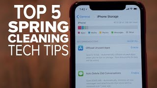 Spring-cleaning tech tips (CNET Top 5)