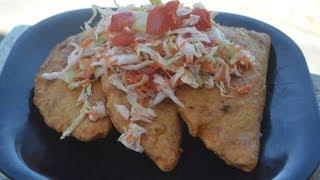 Enchiladas nicaraguenses