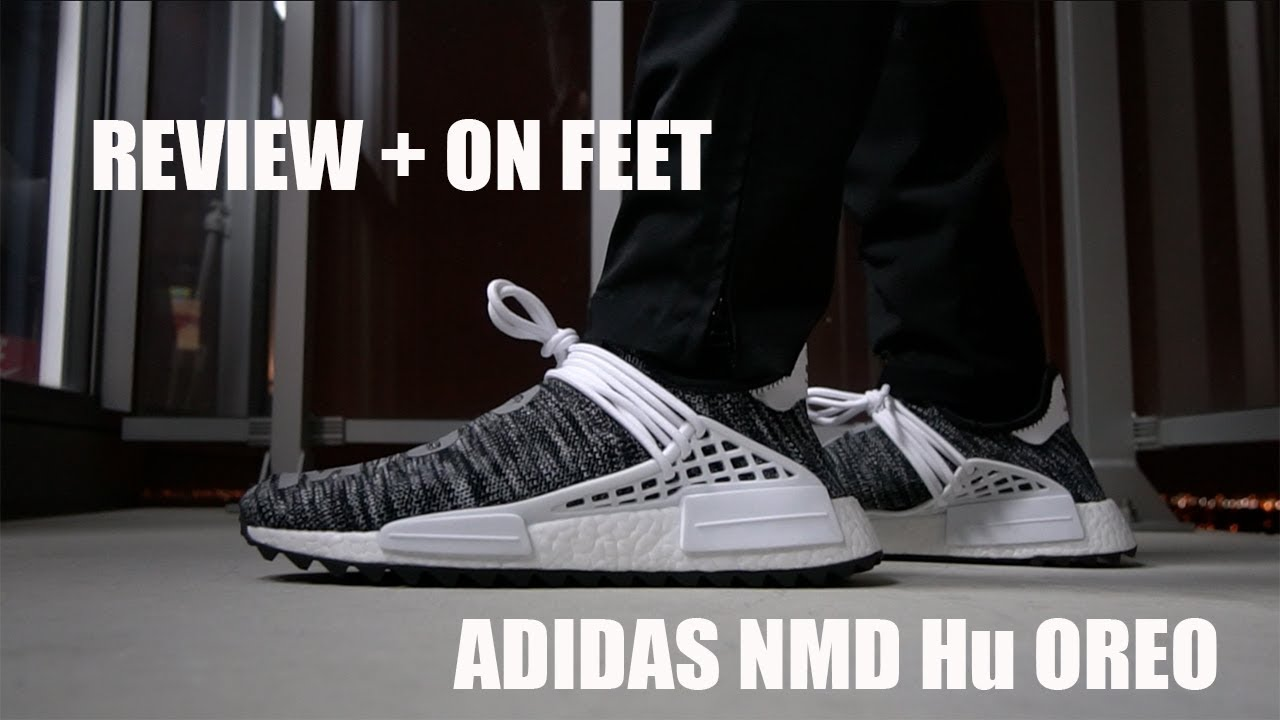 1e8f8f5f6076c Review + On Feet   Adidas x Pharrell Williams Hu Trail Pack - Oreo ...