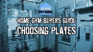 Home Gym Buyers Guide Choosing Weight Plates