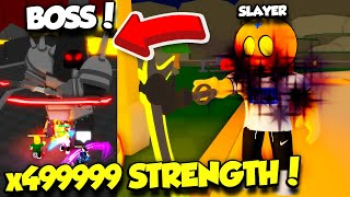 I Became SLAYER RANK In Reaper Simulator And DEFEATED THE BOSS WITH INSANE POWER!! (Roblox)