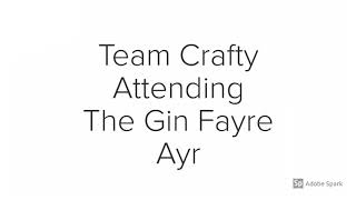Crafty Connoisseur at Ayr Gin Fayre