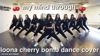 Gambar cover my mind through the loona cherry bomb dance cover