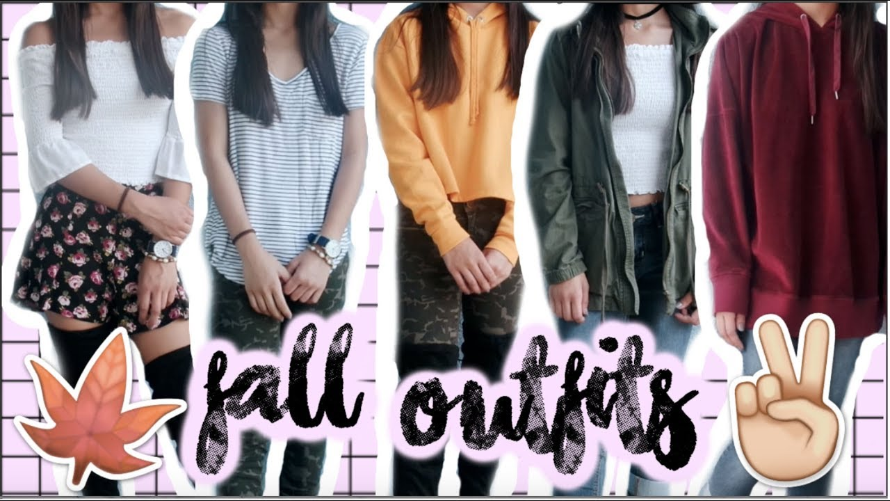FALL OUTFITS 2017 | Mica Cortez