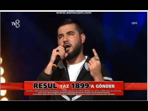 Resul Aydemir-Masal O Ses Türkiye Çeyrek Final
