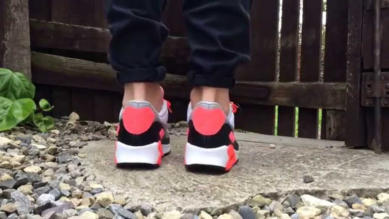online store 5e4a8 fd019  2015  nike air max 90 Infrared Patch SP on foot look by  AirmaxCity