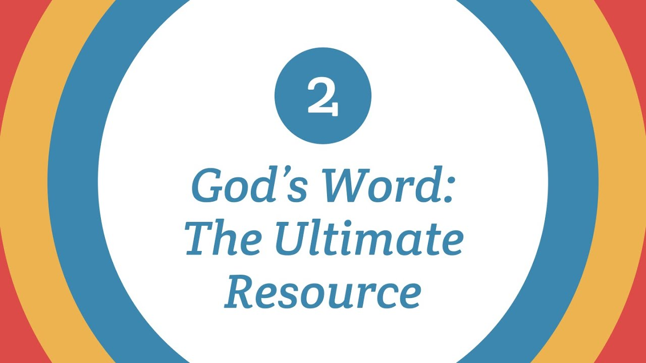 Privileged! | God's Word: The Ultimate Resource