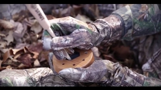 hs strut double spur 2 sided turkey pan call video