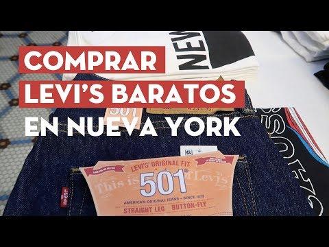 DÓNDE COMPRAR LEVI'S EN NUEVA YORK ¡BARATOS! YouTube
