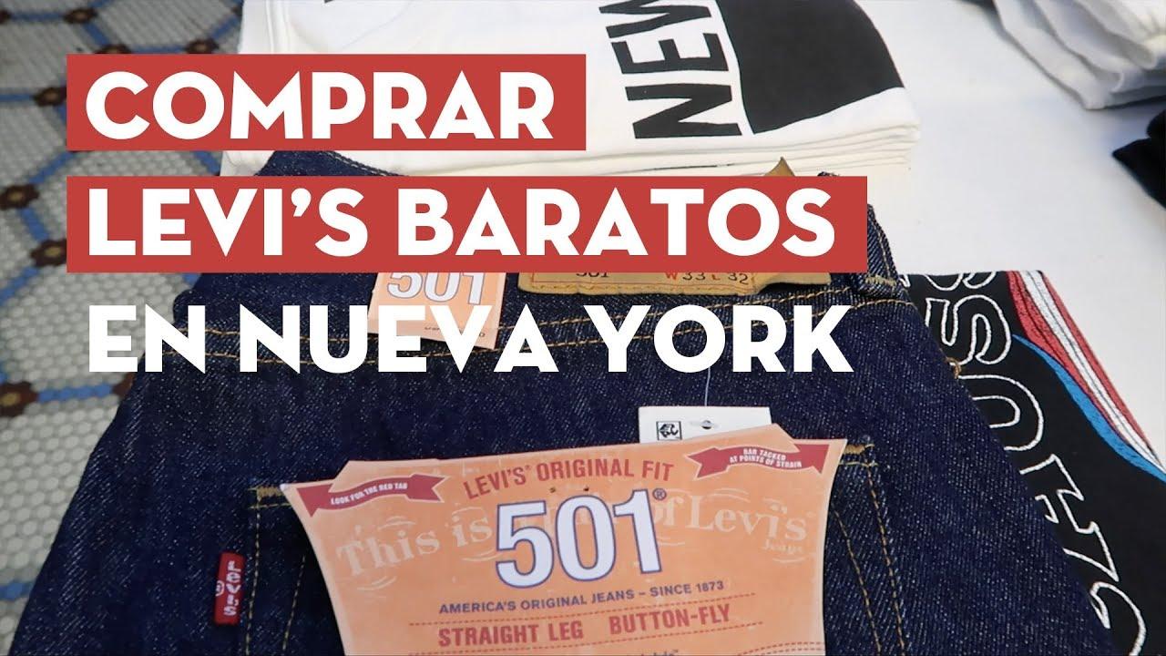 Donde Comprar Levi S En Nueva York Baratos Youtube