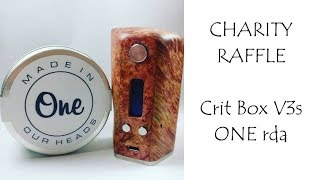 Video CLOSED - Crit Box V3s - ONE RDA - for the Dogs Trust. download MP3, 3GP, MP4, WEBM, AVI, FLV Oktober 2018