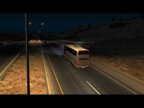 American Truck Simulator Bus trip to San Antonio with Marcop