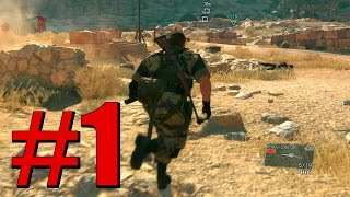 METAL GEAR SOLID V - Phantom Pain  Ep 1-   EU SOU O AGENTE ESPECIAL MAIS MULA DO MUNDO!