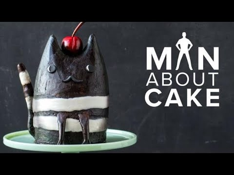 BLACK FOREST Cateau Cake | Man About Cake with Joshua John Russell