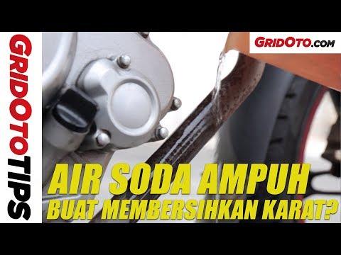 Cara Membersihkan Karat dengan Air Soda l How To l GridOto Tips