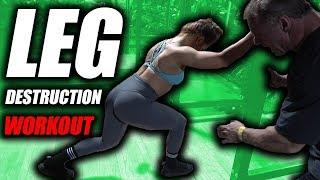 Leg Destruction Workout   City Athletic Club Las Vegas