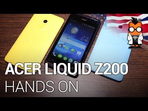Acer Liquid Z200 Video Clips
