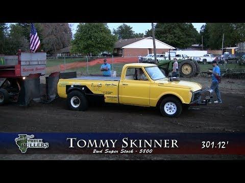 Central Illinois Truck Pullers - 2017 Edinburg Labor Day Picnic - Edinburg, IL Truck Pulls