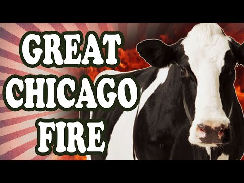 Was the Great Chicago Fire Really Started by a Cow?