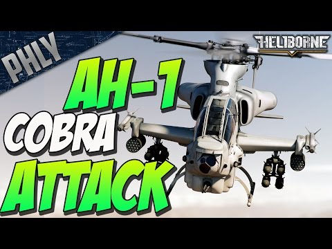 HELIBORNE - AH-1 COBRA KILLING SPREE (Heliborne Gameplay)