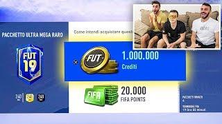 😱 PACCHETTO da 1.000.000 di CREDITI!!! ASSURDO! - PACK OPENING TOTS SERIE A | w/Fius Gamer & Ohm