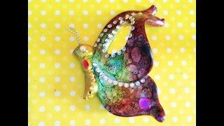 Pinta y decora unas mariposas de Ceramica, utilizando la técnica de...