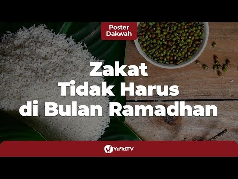 Nisab Zakat dan Haul Zakat - Ustadz Ammi Nur Baits, B.A. - 5 Menit yang Menginspirasi