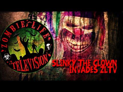 Slinky The CLown Haunts ZLTV