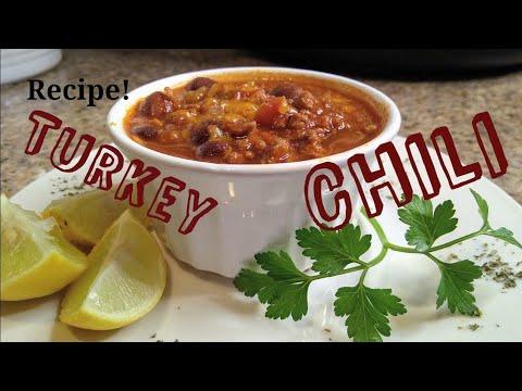 Slow Cook Turkey Chili Recipe | Easy to make | Instapot