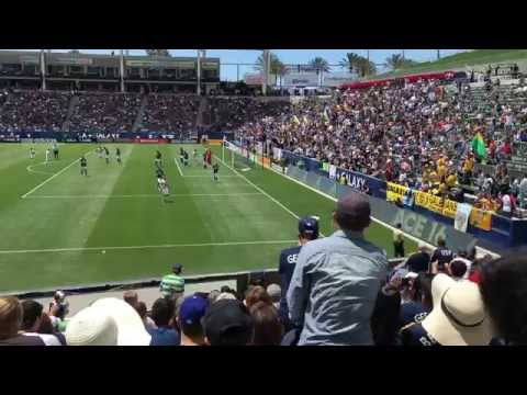 LA Galaxy vs New England Revolution May 8, 2016, Stubhub Center, Carson, CA
