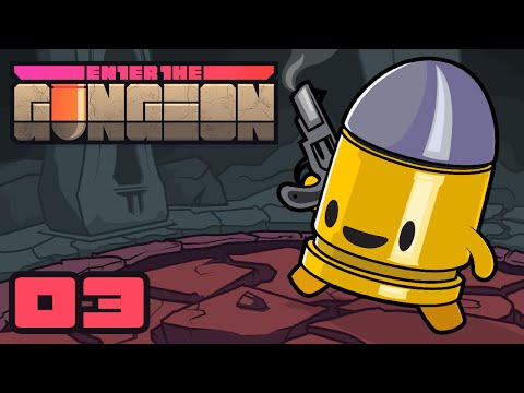 The Fireplace Secret & Subsequent Sewers - Let's Play Enter The Gungeon - Gameplay Part 3