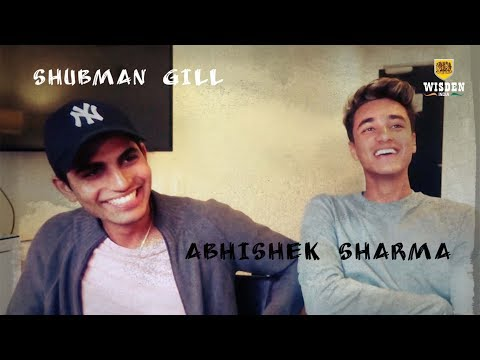 Up close and personal with Shubman Gill and Abhishek Sharma | Wisden India