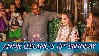 Annie LeBlanc's 13th Birthday