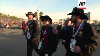Fans continue to arrive for Sochi 2014 Winter Olympics opening ceremony