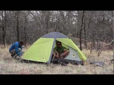 Mountainsmith Morrison Tent Set-up & Mountainsmith Morrison Tent Set-up - YouTube