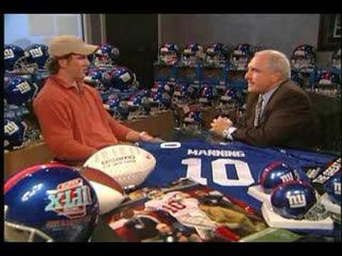 Interview - Eli Manning (Post Super Bowl)
