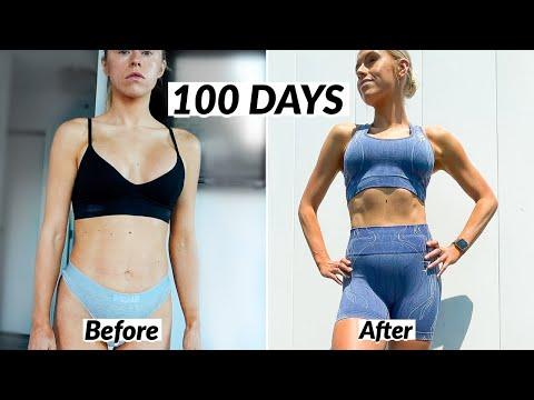 My 100 Day Body Tranformation Journey