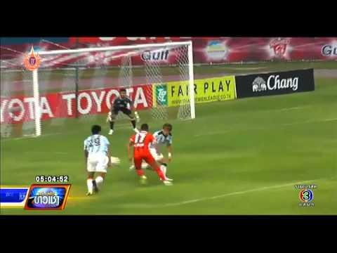 ทันโลกกีฬา | ผลฟุตบอลโตโยต้า ไทยพรีเมียร์ลีก | 12-03-58