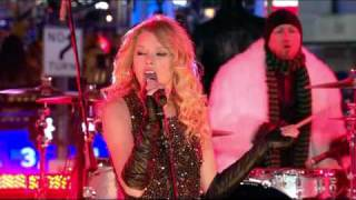 Taylor Swift Live at Times Square in New Year ► Taylor Swift [HD]
