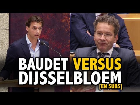 Thierry Baudet on FAILING Economic Policies of Jeroen Dijsselbloem [EN subs]