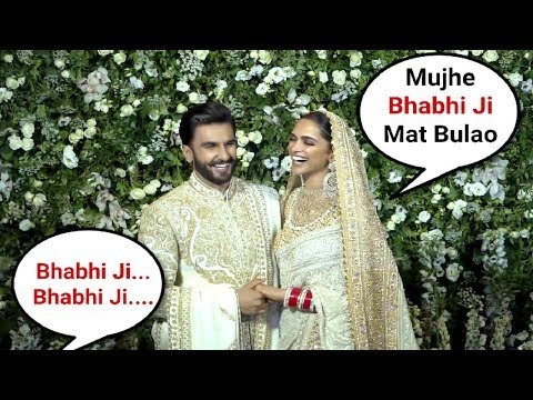 Deepika Padukone Cute Reaction When Media Calls Her BHABHI JI At Mumbai Wedding Reception