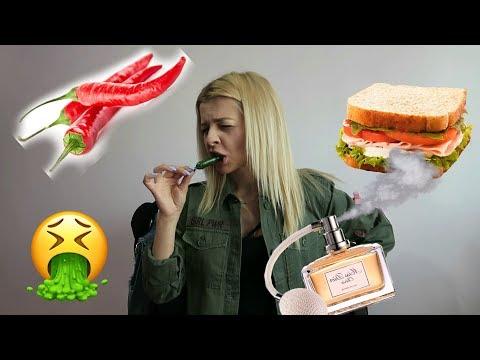 Mananc paine cu parfum! (12 provocari nebune)