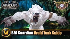 BFA Guardian Druid Tank Guide - Patch 8.2.5